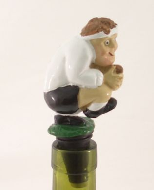 Rugby Player Wine Saver