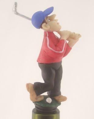 Golfer Wine Saver