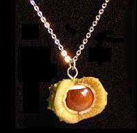 Horse Chestnut Pendant