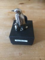 PEWTER PENGUIN PINCUSHION